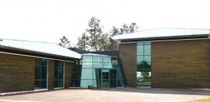Siège social de l'usine Gascogne Bois à Escource