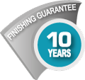 Finishing guarantee 10 years