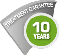 Treatment garantee 10 years