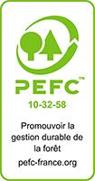 Certification PEFC : bois issus de sources responsables